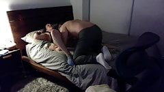 Dorky Dude Eating Pussy, Tearing Up The Bed, Gangsta Fucking!!!