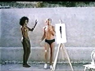 Erotic black anwhite photography - Ajita wilson anomali erotes sti santorini 1983