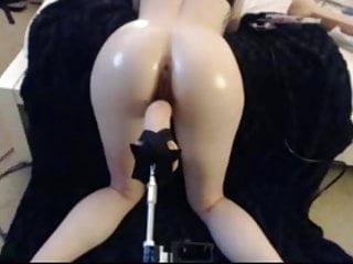 Massive anal bleeding Massive anal dildo