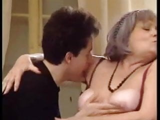 Granny gangbanged by young studs - Gilf with young studs