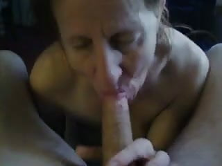 Cum face granny com - Sucks and cum on face