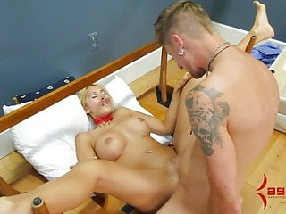 Porn suspender Anal milf suspended with chair in ass after nasty cum play