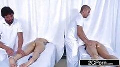 Massagem com irmã real