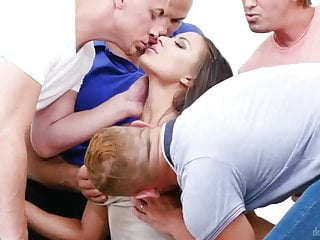 Cassi sex doll - Hardcore gangbang with a sex-addicted goddess cassie del isl