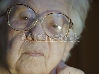 Looking at cocks cum - Granny looking at a big cock