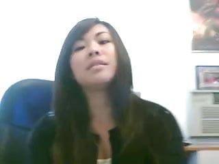 Cute asian girl gifs Cute asian girl films herself cumming with dildo