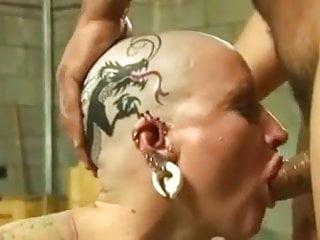 Bald head porn