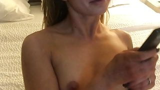 Asian male with hot escort