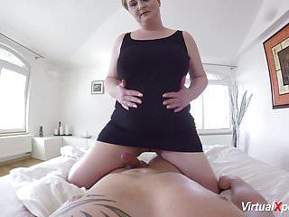 Bbw mom sex - Hot pov sex with busty stepmom