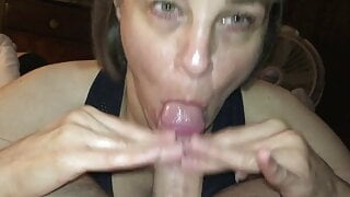 Marie sucking more cock
