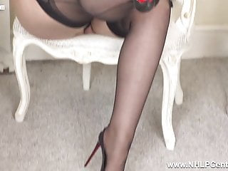 Throbbing pussy sex stories interactive narratives - Redhead milf fingers throbbing pussy in corset nylons heels