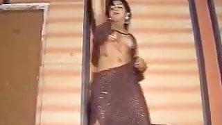 Cute Indian girl dancing