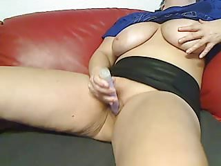 Dildo fuck mature Mature mom-big boobs on cam show-hard dildo fuck to orgasm