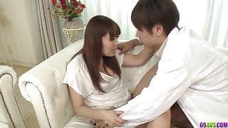 Strong sex play at home for naughty Hina Misaki - More at 69