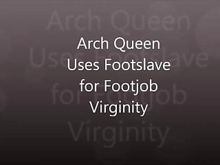 Dvd queen virgin - Arch queen uses footboy for footjob virginity