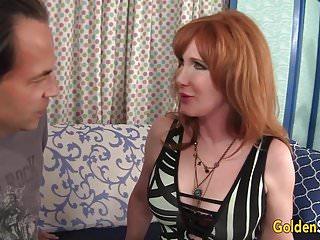 Free grandma fucking videos - Redheaded grandma freya fantasia fucked hard