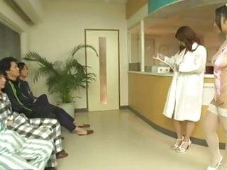 Nurse cum 4greedy Two japanese nurses slurp blowjob and cum extraction