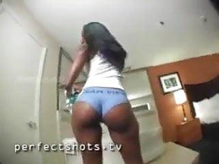 Hot teen girls in panties - Hot black booty twerking in panties