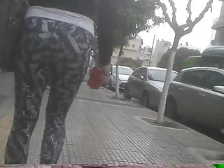 Perfect ass in pants - Most perfect ass maybe trully amazing.hidden cam.yoga pants