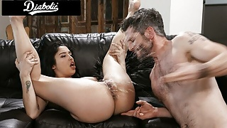 Cute Latina Step Daughter Squirts When Fucked By Step Dad