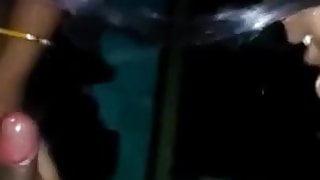 Shy village girl suck say idhar dekh ke chuso