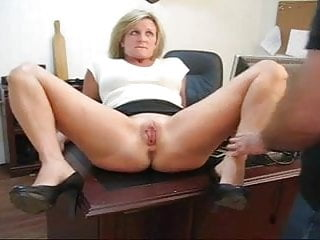 Pussy punishment galleries - Caught playing with her pussy punishment for his secretary