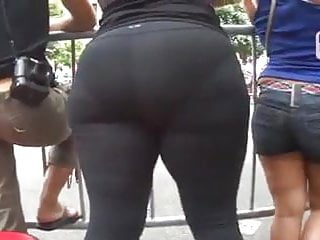 Trannies in nyc Candid big butt - mature ass voyeur - street booty in nyc