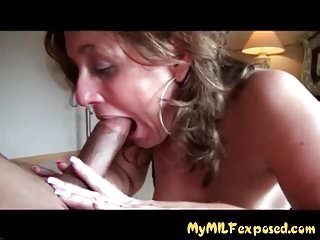 Wife blowjob a - My milf exposed mature amateur wife blowjob and fucking