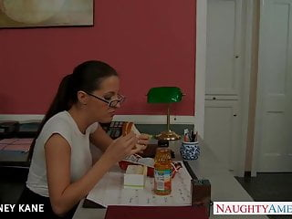 Free kortney kane lesbian videos Office babe in glasses kortney kane fucking