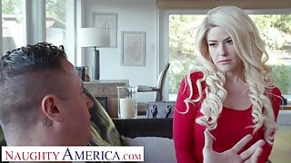 Naughty America Kit Mercer fucks her step son's bully to get him