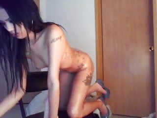 Asain sexy shemales - Cute asain toys ass on cam no sound