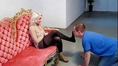 Mistress smelly boot feet