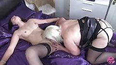 LACEYSTARR - Lesbian Sex with Eva Johnson