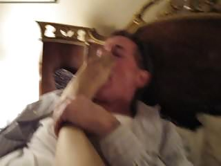 Foot jobs stocking feet Licking and fucking gisellas stocking feet