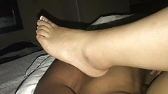 DaCaptainAndMimosa In PRETTY FEET & GOOD PUSSY AT THE HOTEL