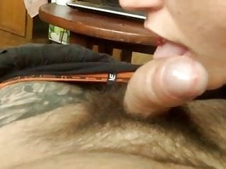 Tounge in my pussy - Amazing tounge tease on dick