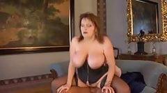Huge Saggy Tits BBW Fucked In Black Stockings