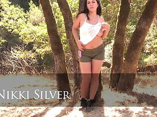 Zeek sexy in silver 6 sc2 - Hairy nikki silver in outdoor scene sexy hairy bush armpits