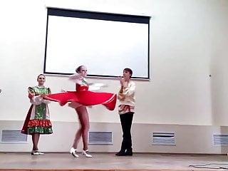 Cheerleader upskirt video Teens pantyhose upskirt while dancing slomo included
