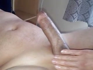 Itchy penis after shaving - Handjob after shaving