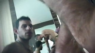 COCK WORSHIPING FOR A MOUTHFUL OF SPUNK