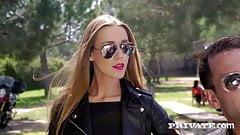 Private.com - DP'd Babe Anna Polina Gets 2 Loads Of Warm Cum