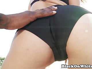 Interacial amateur sex videos - Interacial loving babe fucked hard by bbc