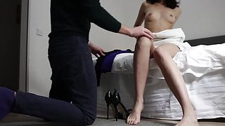Cuckold Preparing His Wife For a SEX DATE