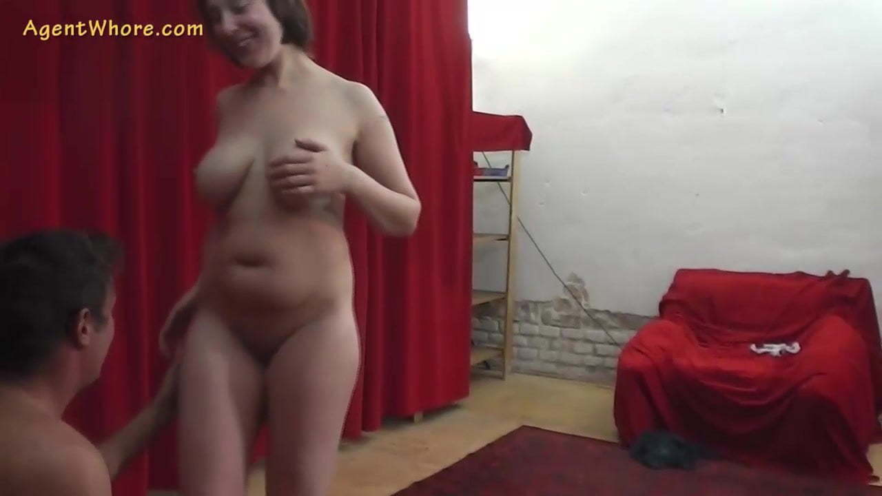 Agent Whore busty milf agent whore seduces a shy beginner guy