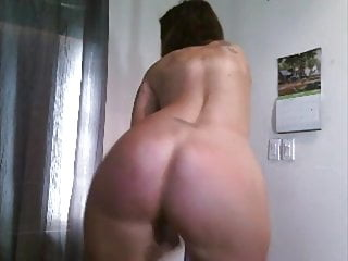 Pole in ass skydive - Pawg milf pole dance
