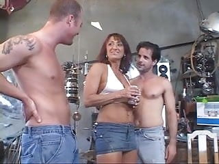 Jaylynn fox gangbang Julian fox - trailer trash mom