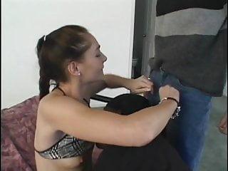 Randy sluts - Randy slut fucked by two guys