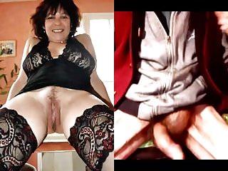 Sexy photos of my wife - Stroking my cock to photos 4