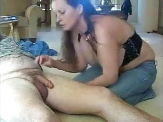 Free brunette blow job movie Sexy big titted brunette blow job